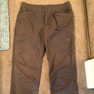 Grey-ish The North Face hiking pants